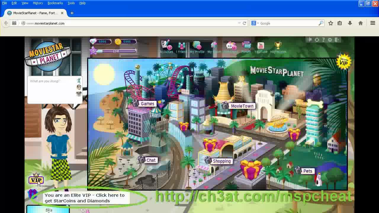 How to become a vip on moviestarplanet for free